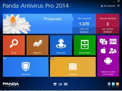Panda Antivirus Pro 2016 screenshot