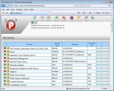 PanelDaemon GPL 1.5 screenshot
