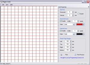 Paper Grid 2.00 screenshot