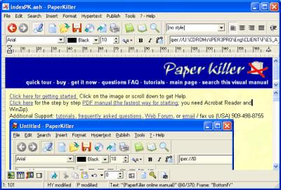 Paper Killer 2016.7.6 screenshot