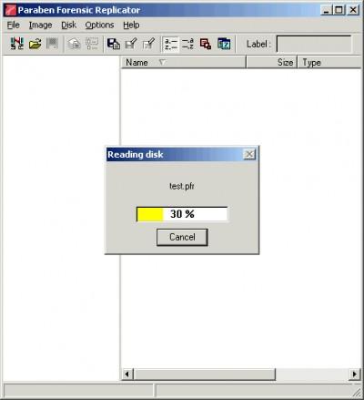 Paraben's Forensic Replicator 4.3 screenshot