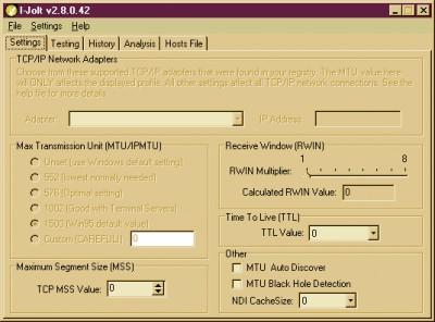 Paraben's I-Jolt 2.85.57 screenshot