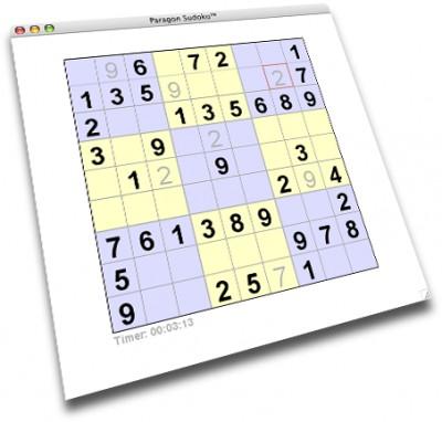 Paragon Sudoku 1.0 screenshot