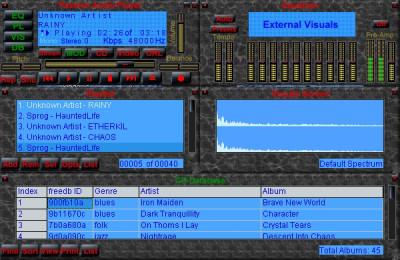 Passion Audio Player 5.0 screenshot