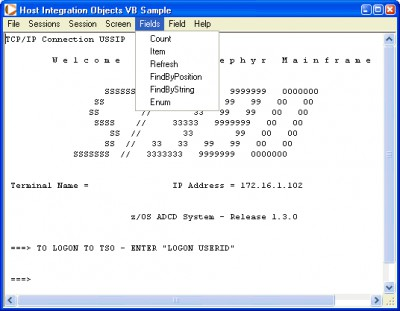 PASSPORT Host Integration Objects 2011-826 screenshot