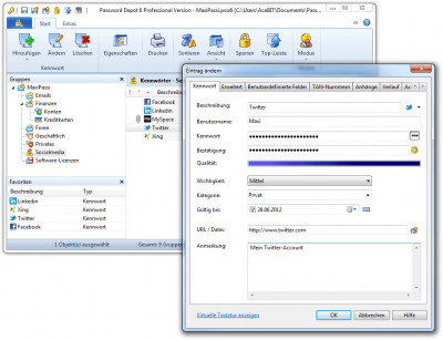 Password Depot 6.1.2 screenshot