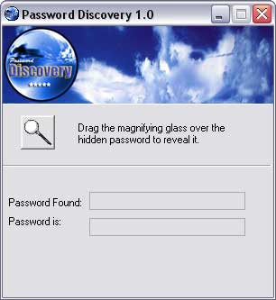 Password Discovery 2.2 screenshot