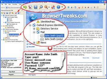 Password Recovery Bar 1.2.5 screenshot