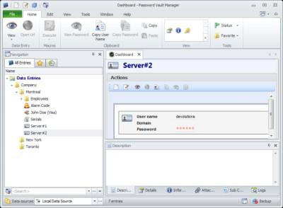 Password Vault Manager 10.0 screenshot