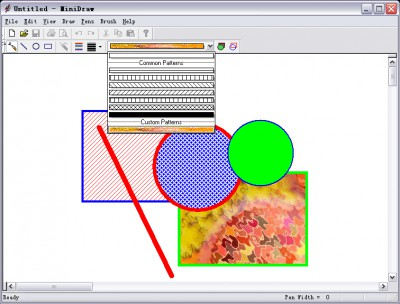 PatternCombo ActiveX Control 1.0.2.1 screenshot