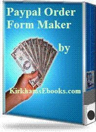 Paypal Order Form Maker $2.00 with Resal 1.8 screenshot