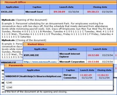 PC Activity Monitor Lite (PC Acme Lite) 7.4.1 screenshot