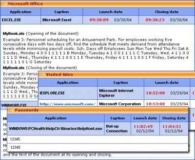 PC Activity Monitor Lite 7.7.1 screenshot
