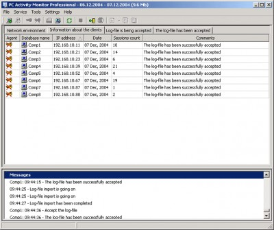 PC Activity Monitor Professional (PC Acme Professi 7.6.2 screenshot
