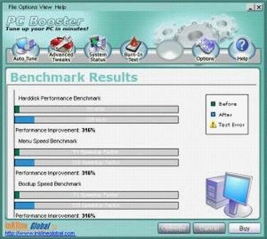 PC Booster - Max Memory 5.10.718 screenshot