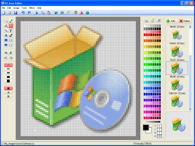 PC Icon Editor 3.6 screenshot