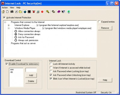 PC Security 6.4 screenshot