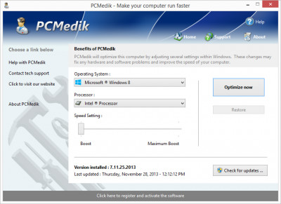 PCMedik 8.5.22.201 screenshot