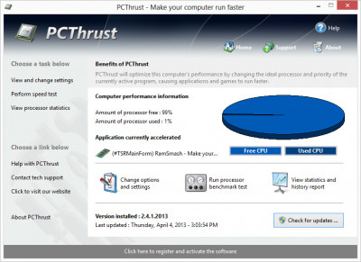PCThrust 2.5.20.201 screenshot