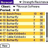 PDAbs 5.0 screenshot