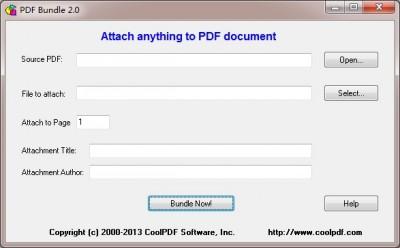 PDF Bundle 2.0 screenshot