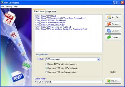 PDF Converter 4.555 screenshot