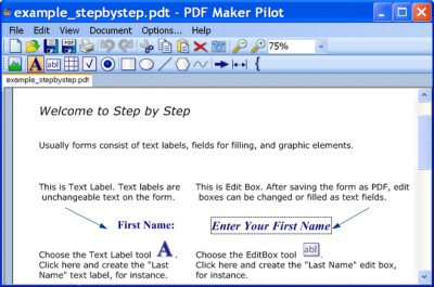 PDF Maker Pilot 2.3.1046 screenshot