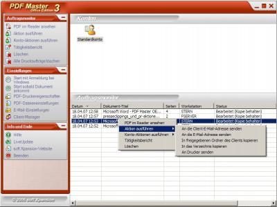 PDF Master Office Edition 3.0 screenshot