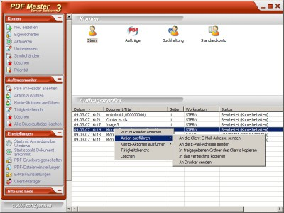 PDF Master Server Edition 3.0 screenshot