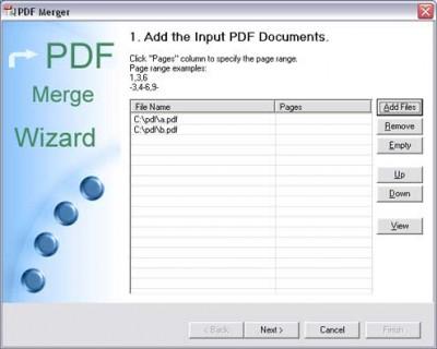 PDF Merger 3.00 screenshot