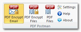 PDF Postman Email Encryption for Outlook 1.4 screenshot