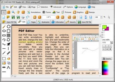 PDF Reader 4.0 screenshot