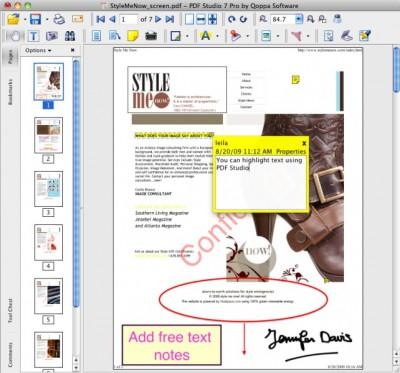 PDF Studio 6.62 screenshot