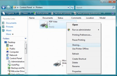 PDF Vista Server 7.02 screenshot