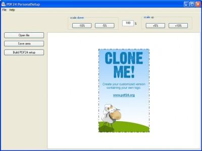 PDF24 Creator Personalizer 1.0 screenshot