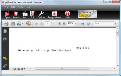 pdfMachine 15.33 screenshot