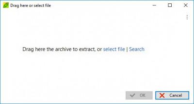PeaExtractor 1.3 screenshot