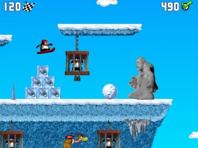 Penguin versus Yeti 1.5.41 screenshot