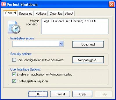 Perfect Shutdown for Windows 2.5 screenshot