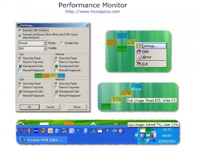 Performance Monitor 4.1.2 screenshot