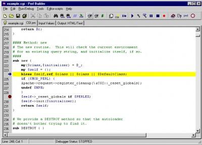 Perl Builder 2.0m screenshot