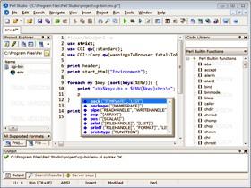 Perl Studio 2008 2.15 screenshot