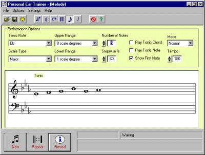 Personal Ear Trainer 1.10 screenshot