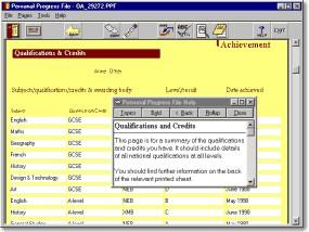 Personal Progress File, Standard Edition 1.4.2aMU screenshot