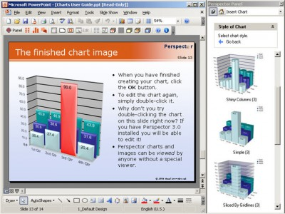 Perspector Professional Edition 4.2 screenshot