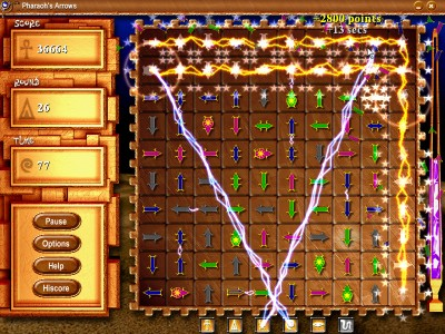 Pharaohs Arrows  screenshot