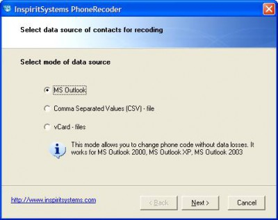 PhoneRecoder 1.0 screenshot