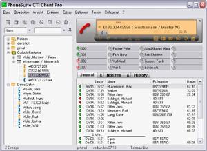 PhoneSuite CTI Client Professional 2.2.054 screenshot