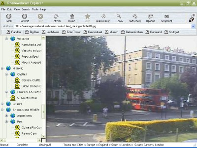 Phonewebcam Explorer 3.5 screenshot