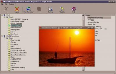 Photo Album Downloader for Yahoo 2.6.1.6 screenshot